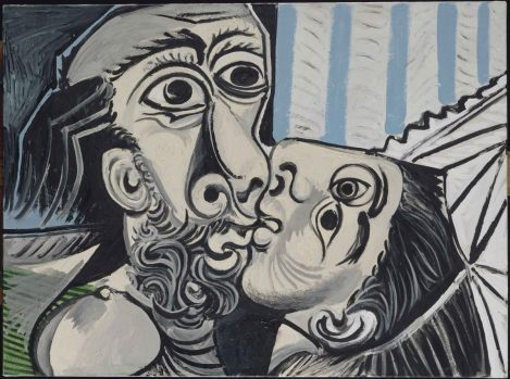 Pablo_Picasso_Le_Baiser_Mougins_1969_Musee_national_Picasso_Paris_Dation_Pablo_Picasso_1979_MP220_RMN_Grand_Palais_Musee_national_Picasso_Paris_Berizzi_Jean_Gilles_Berizzi_Succession_Pic